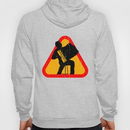 Accordion Silhouette Hoody