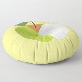 Fruit: Apple Golden Delicious Floor Pillow