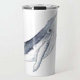 Baby humpback whale for children kid baby Travel Mug