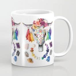 Steer Skull Coffee Mug