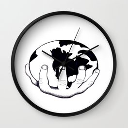 Imperialism Wall Clock