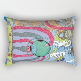 use your imagination Rectangular Pillow