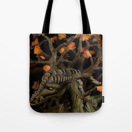 The Autumn Tree Dragon Tote Bag
