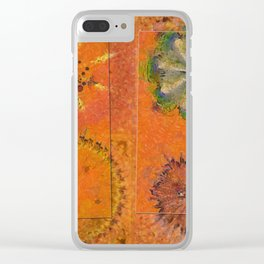 Zymase Harmony Flower  ID:16165-100704-37371 Clear iPhone Case