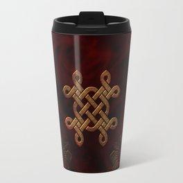 Celtic knote, vintage design Travel Mug