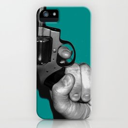 Kiss with a Fist iPhone Case