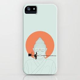 Buddha : Make Love! iPhone Case