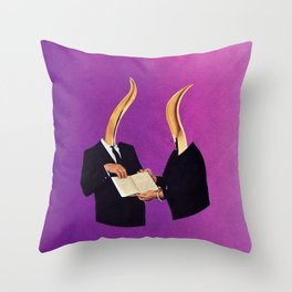 further reading Throw Pillow