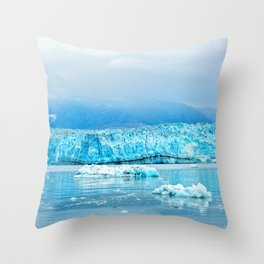 Icy Depths Throw Pillow
