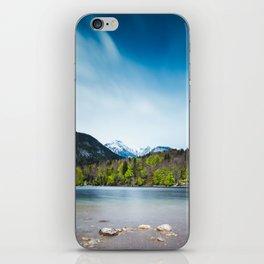 Lake Bohinj with Alps in Slovenia iPhone Skin