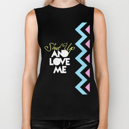 SHUT UP AND LOVE ME © PURPLE LIMITED EDITION for IPHONE Biker Tank