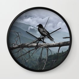 The Sentinel Wall Clock