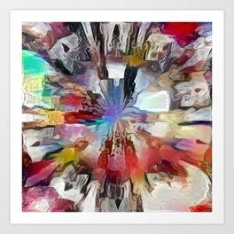 Colordrop Mandala 4 Art Print
