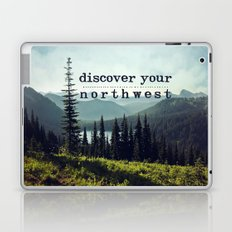 discover your northwest- mountains Laptop & iPad Skin