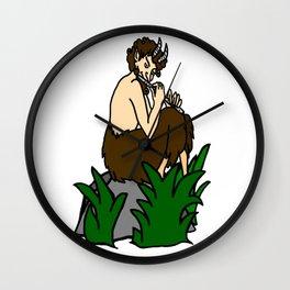 The Great God Pan Wall Clock