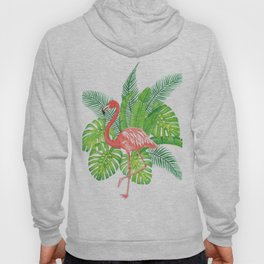 Flamingo Tropicale Hoody