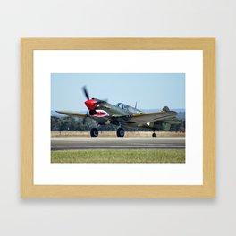 VH-ZOC Curtiss P-40N Warhawk Framed Art Print