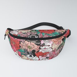 Because French Bulldogs Fanny Pack