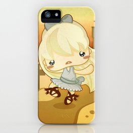 The Red Shoes iPhone Case