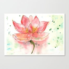 SEKA Lotus Canvas Print