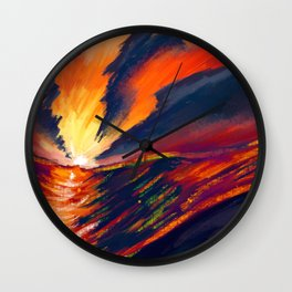 called upon the water Wall Clock