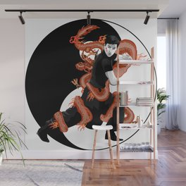 The Dragon Wall Mural