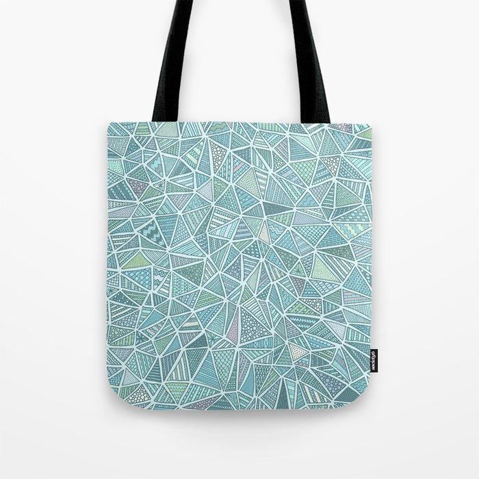 Pastel Diamond Tote Bag