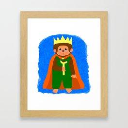 King of Teddyland Framed Art Print