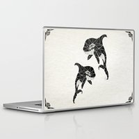 orca Laptop & iPad Skins featuring orca by Manoou