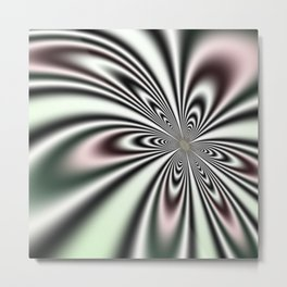 Dizzying Flower Metal Print