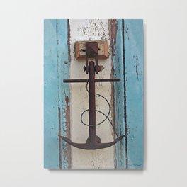 Anchor Metal Print