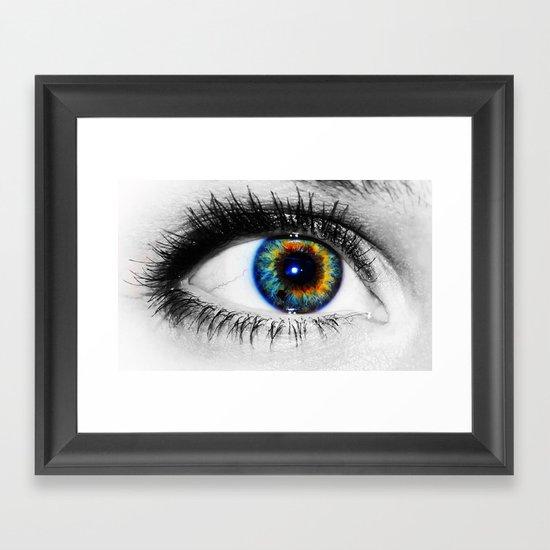 Sofies eye Framed Art Print