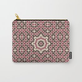 Moorish Dusty Pinks Carry-All Pouch