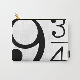 Platform 9 3/4 Nine And Three Quarters Carry-All Pouch