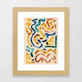 Pattern № 69 Framed Art Print