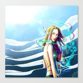 elf_01 Canvas Print