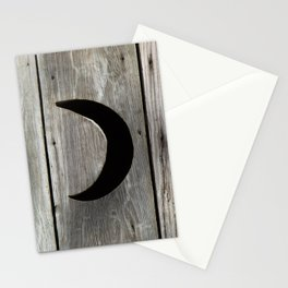 Outhouse Moon Stationery Cards