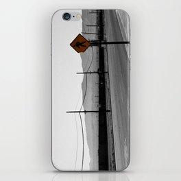 Just walk iPhone Skin