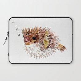 Little cute Fish, Puffer fish, cut fish art, coral aquarium fish Laptop Sleeve