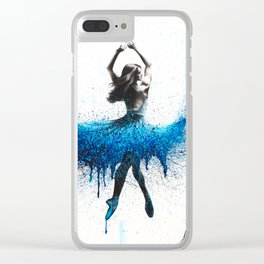 Evening Sonata Clear iPhone Case