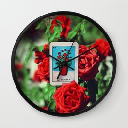 La Maceta Wall Clock