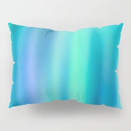 Mermaid Lake - Blue Green Aesthetic Pillow Sham