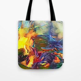 Groovy Fire Tote Bag