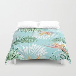 Tropic Palm #society6 #decor #buyart Duvet Cover