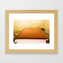 Living Water Framed Art Print