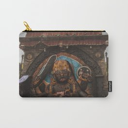 Temples and Architecture of Kathmandu City, Nepal 001 Carry-All Pouch