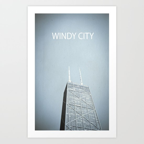 Windy City Art Print