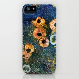 Abstract beautiful barnacles iPhone Case