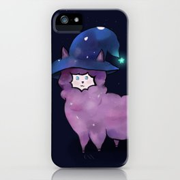 Witch Alpaca iPhone Case