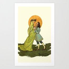 Springtime Barduil Art Print